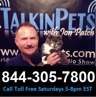 Talkin Pets Live Saturdays 5 to 8