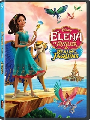 Listen to Talkin' Pets this Saturday from 5-8 pm EST for your chance to win the Disney DVD of Elena of Avalor:  Realm of the Jaquins