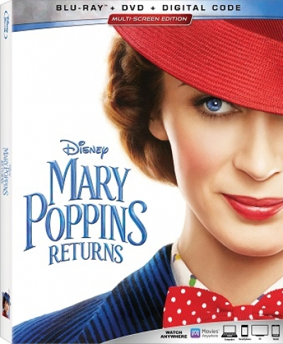 "Compliments of Disney on 3/16/19 call Talkin' Pets during trivia and win the new DVD of ""Mary Poppins Returns"""