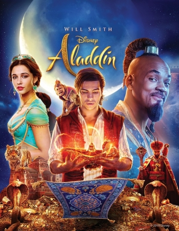 "Experience the Magic in a Whole New Way  Disney's ""Aladdin"" win a Digital Download or a Blu-Ray copy of the film on today's show"