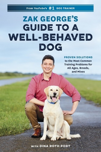 """Author Zak George will join Jon and Talkin' Pets 7/27/19 at 5pm ET to dicuss and give away his new book, """"Zak George's Guide To A Well-Behaved Dog"""""""
