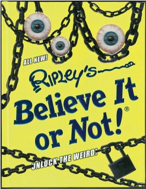 "Edward Meyer from Ripley's Believe It or Not will join Jon and Talkin' Pets 11/12/16 at 5pm EST to discuss and give away their new book ""Unlock the Weird"""