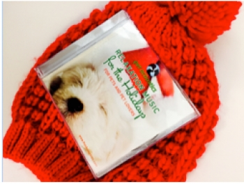 Janet Marlow, sound behaviorist,Founder and CEO of Pet Acoustics, Inc. is proud to offer a solution for stressed pets this holiday, Pet Acoustics Holiday Music, she will join Jon and Talkin' Pets 11/26/16 at 630pm EST to discuss and give away her CD