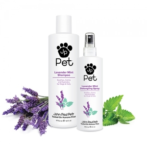 Gina Dial, VP of Sales & Marketing, John Paul Pet, will join Jon and Talkin' Pets 4/8/2017 at 630pm ET to discuss and give away their new Lavender Mint Products