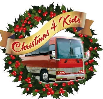 117 ENTERTAINMENT GROUP ARTISTS HELP THOSE IN NEED THIS HOLIDAY SEASON AT THE CHRISTMAS 4 KIDS TOUR BUS SHOW
