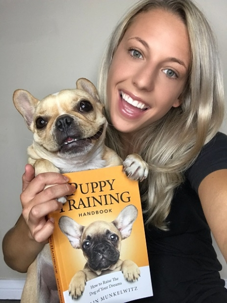 Celebrity Dog Trainer, Kaelin Munkelwitz will join Jon and Talkin' Pets 12/23/17 at 5pm EST to discuss and give away her book, The Puppy Training Handbook