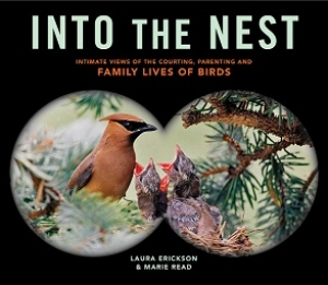 "Author of ""Into The Nest"" Laura Erickson will join Jon and Talkin' Pets Saturday 4/9/16 at 5pm EST to discuss and give away her book"