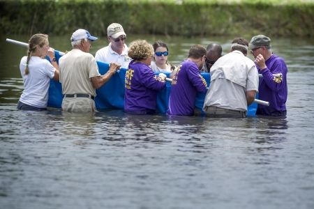 Rescued and Rehabilitated Juvenile Dolphin Released Back into the Gulf of Mexico