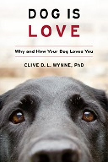 "Clive Wynne, author of ""Dog is Love"" will join Jon and Talkin' Pets 9/28/19 at 5pm ET to discuss and give away his new book"