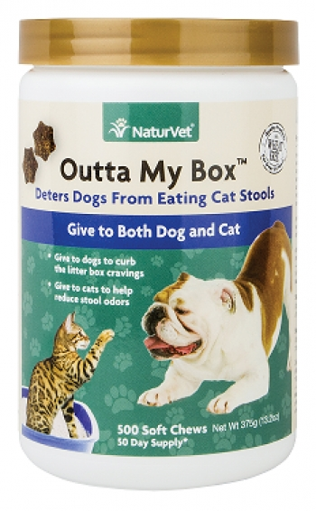 Dr. Ihor Basko will join Jon and Talkin' Pets 4/29/17 at 630pm EST to discuss and give away NaturVet's first ever product to stop dogs from eating cat poop - Outta My Box