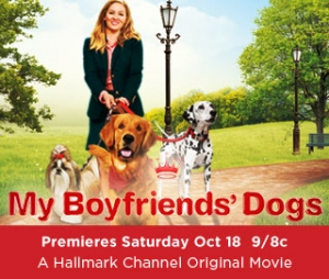 "Teryl Rothery starring in Hallmark Channels Original Movie ""My Boyfriends' Dog"" is joining Jon and Talkin' Pets 10/11/14 at 5 PM EST to discuss the film"