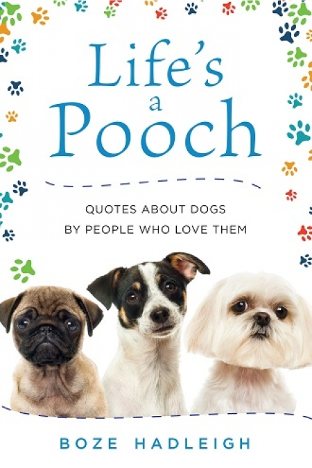 "Boze Hadleigh author of ""Life's a Pouch"" will join Jon and Talkin' Pets 12/9/17 at 5pm EST to discuss and give away his new book"