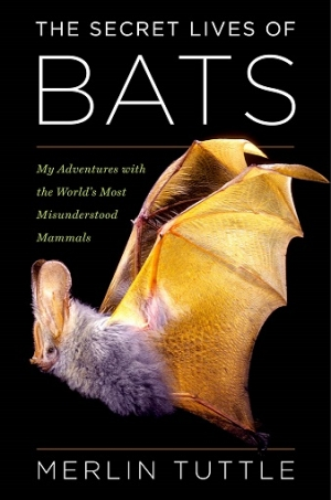 DR. MERLIN TUTTLE is an ecologist, wildlife photographer, and conservationist who has studied bats worldwide for more than fifty years will join Jon and Talkin' Pets 10/31/15 at 5pm EST to discuss and give away his book THE SECRET LIVES OF BATS