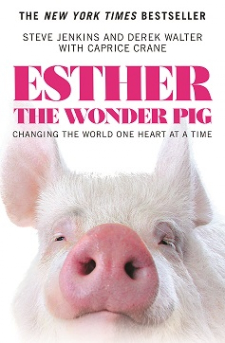 Steve Jenkins, co-author of Esther The Wonder Pig will join Jon and Talkin' Pets 7/8/17 at 5pm EST to discuss and give away their book