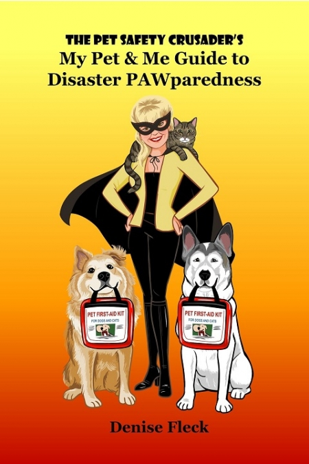 "Denise Fleck author of The Pet Safety Crusader's ""My Pet & Me Guide to Disaster Pawparedness"" will join Jon and Talkin' Pets 11/17/18 at 5pm EST to discus and give away her new book"