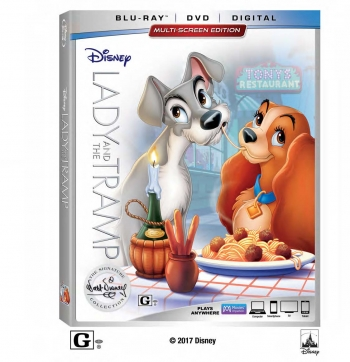 """Lady and the Tramp"" Wags Its Way into the Walt Disney Signature Collection  on Digital Feb. 20 and on Blu-ray™ Feb. 27"