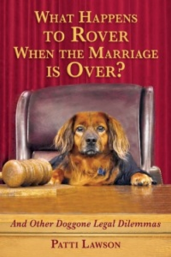 """Patti Lawson author of """"What Happens To Rover When The Marriage Is Over"""" will join Jon and Talkin' Pets 9/24/16 at 7pm EST to discuss and give away her new book"""