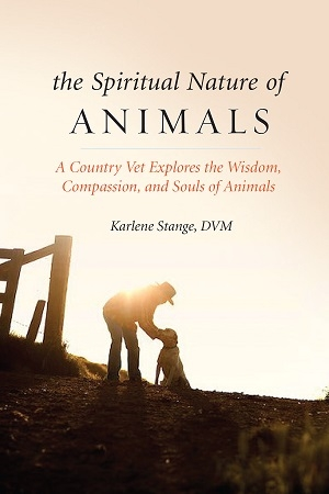 Karlene Stange, DVM, author of The Spiritual Nature of Animals: A Country Vet Explores the Wisdom, Compassion and Souls of Animals will join Jon and Talkin' Pets 10/28/17 at 630pm EST to dicsuss and give away her new book