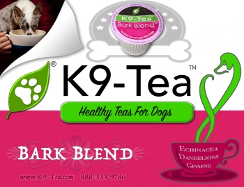 Ingrid Sutton, the owner of K9-Tea will join Jon and Talkin' Pets 12/03/16 at 630pm EST to discuss and give away her K Cups for dogs