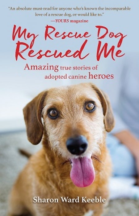 "Sharon Keeble author of ""My Rescue Dog Rescued Me"" will join Jon and Talkin. Pets 4/1/2017 at 5pm EST to discuss and give away her new book"