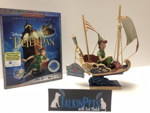 "Experience the Magic of Disney's Beloved Flight of Fantasy:  ""Peter Pan"" Soars Into the Walt Disney Signature Collection and you can win from Disney the Peter Pan DVD and figurine this Saturday 7/7/2018 on Talkin' Pets 5-8pm EST"