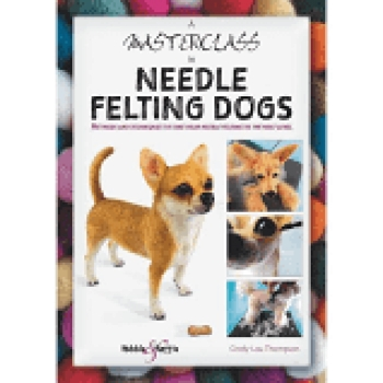 Cindy -Lou Thompson author of A Masterclass in Needle Felting Dogs will join Jon & Talkin' Pets 11/14/20 at 5pm ET to discuss and give away her book
