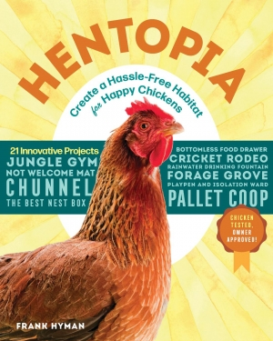 Frank Hyman author of Hentopia will join Jon and Talkin' Pets 7/06/19 at 5pm ET to discuss and give away his book
