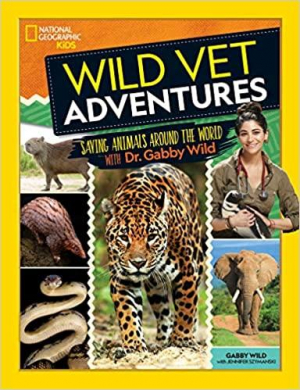 Wild Vet Adventures: Saving Animals Around The World With Dr. Gabby Wild will join Jon & Talkin' Pets 3/13/21 at 630pm ET to dicuss and give away her new book