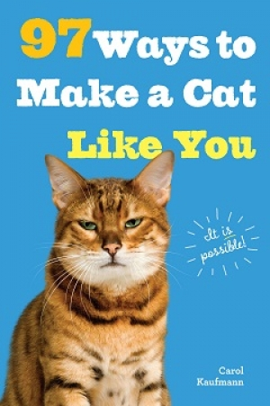 "Carol Kaufmann author of ""97 Ways to Make a Cat Like You"" will join Jon and Talkin' Pets 7/25/20 at 5pm ET to discuss & give away her new book"