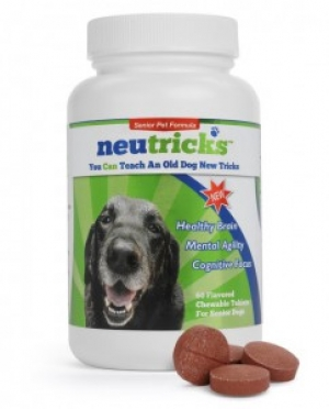 Mark Underwood, President of Quincy Animal Health will join Jon and Talkin' Pets this Saturday at 6:30 PM EST to discuss and give away Neutricks - designed to protect brain cells in senior dogs