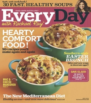 "Morgan Gibson Assistant Editor at ""Every Day with Rachael Ray"" will join Jon and Talkin' Pets Saturday 3/15/14 at 630 PM EST to discuss and give away the April issue of the magazine"