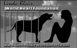 Help Sasha and Hermes at Linda Blair's WorldHeart Foundation