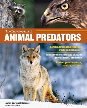 "Janet Vorwald Dohner author of ""The Encyclopedia of Animal Predators"" will join Jon and Talkin' Pets 8/10/19 at 5pm ET to discuss and give away her new book"