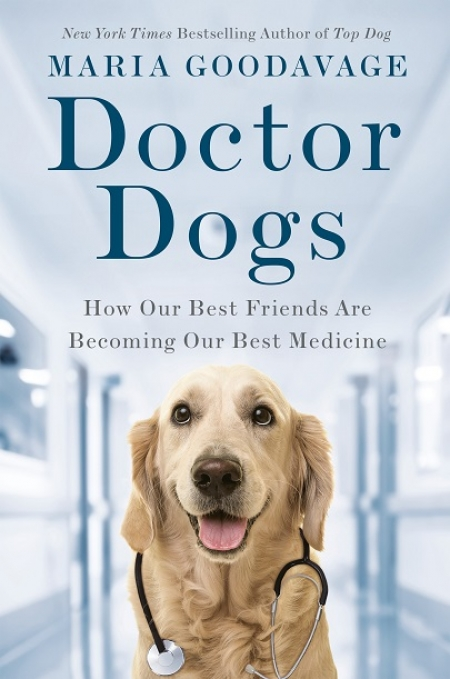 "Maria Goodavage, author of ""Doctor Dogs"" will join Jon and Talkin' Pets 10/12/19 at 5pm ET to discuss and give away her new book"
