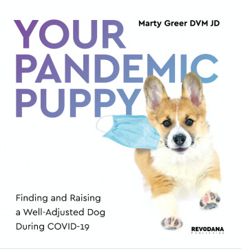 "Top Vet, Marty Greer, Pens 'YOUR PANDEMIC PUPPY', Essential Guide to Dog Ownership in Exceptional Times-Chapters include ""Keeping Your Pooch Happy in the Age of Covid"" - she joins Talkin' Pets at 6pm ET on 1/30/21"
