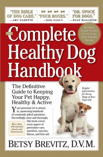 "Betsy Brevitz, D.V.M., author of ""The Complete Healthy Dog Handbook"" will join Jon & Talkin' Pets 8/08/20 at 5pm ET to discuss and give away her new book"