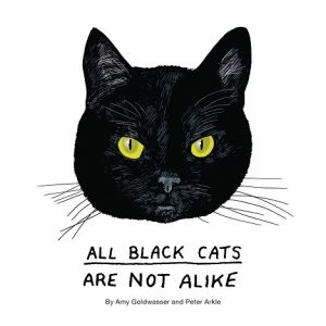 Amy Goldwasser and Peter Arkle partners of the book All Black Cats Are Not Alike will join Jon and Talkin' Pets 10/1/16 at 5pm EST to discuss and give away their new book