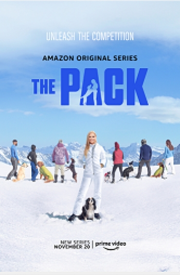 """Mitra Yosri and her dog Bozley will join Jon & Talkin' Pets 11/28/20 at 5pm ET to discuss the new Amazon Prime show """"The Pack"""""""