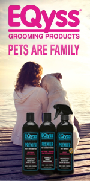 Dallas Van Kempen President of EQyss Grooming Products, Inc. will join Jon and Talkin' Pets 4/25/20 at 630pm ET to discuss and give away his shampoo