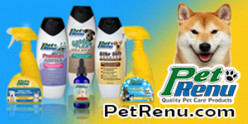 Nanette Defalco-Moreno of Pet Renu will join Jon & Talkin' Pets at 635pm ET to discuss and give away her shampoo's