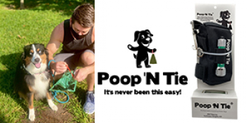 Max Leahy, Co-Founder of Poop'NTie will join Jon & Talkin' Pets 4/24/21 at 630pm ET to discuss and give away his product the only poop bag for dogs with a draw string close