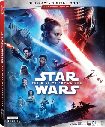 OWN THE FINAL FILM IN THE CONCLUSION OF THE SKYWALKER SAGA  STAR WARS: THE RISE OF SKYWALKER.  Talkin' Pets will be giving away the Blu-ray, DVD, Digital version of the film this Saturday 3/28/20 from 5-8pm ET