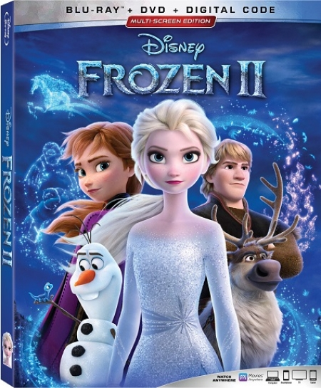 "The No. 1 Animated Feature Film of All Time  Disney's ""Frozen 2""  Arrives Home on Digital Feb. 11 and on Blu-rayä Feb. 25 - Call and Win a Blu-ray copy on Talkin' Pets 2/22/20 5-8pm EST"