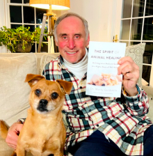 Dr. Marty Goldstein, author of THE SPIRIT OF ANIMAL HEALING will join Jon & Talkin' Pets 2/6/21 at 5pm ET to discuss & give away his new book