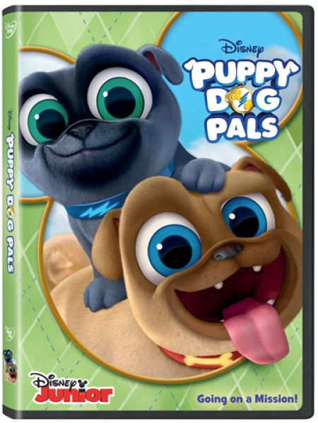 WIN ! and bring home on DVD from Disney, Puppy Dog Pals, a 2 hour Disney adventure - Listen to Talkin' Pets 4/14/18 and have a chance to win this DVD for your entire family.