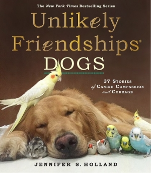 "Author of ""Unlikely Friendships"", Jennifer S. Holland will join Jon & Talkin' Pets 8/22/20 at 5pm ET to discuss and give away her new book"