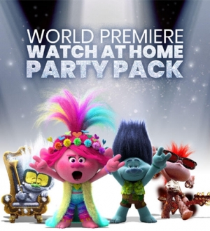 Throw your own home premiere for TROLLS WORLD TOUR this Friday!